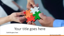 Team Solution Widescreen PPT PowerPoint Template Background