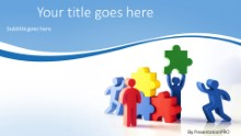 PowerPoint Templates - Teamwork Solution Widescreen