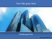 Download reflections in a skyscraper PowerPoint Template and other software plugins for Microsoft PowerPoint