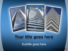 Download big office buildings PowerPoint Template and other software plugins for Microsoft PowerPoint