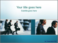 Download business walk PowerPoint Template and other software plugins for Microsoft PowerPoint