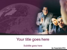 Download consulting group purple PowerPoint Template and other software plugins for Microsoft PowerPoint