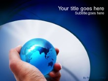 Download globe grip PowerPoint Template and other software plugins for Microsoft PowerPoint