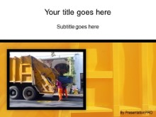 Download garbage men PowerPoint Template and other software plugins for Microsoft PowerPoint