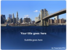 Download brooklyn bridge PowerPoint Template and other software plugins for Microsoft PowerPoint