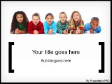 Download all about kids PowerPoint Template and other software plugins for Microsoft PowerPoint