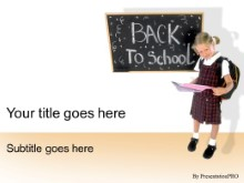 Download back 2 school PowerPoint Template and other software plugins for Microsoft PowerPoint