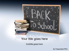 Download back 2 school 2 PowerPoint Template and other software plugins for Microsoft PowerPoint