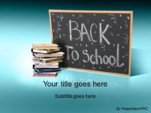 Download back 2 school 2 cyan PowerPoint Template and other software plugins for Microsoft PowerPoint
