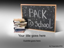 Download back 2 school 2 gray PowerPoint Template and other software plugins for Microsoft PowerPoint