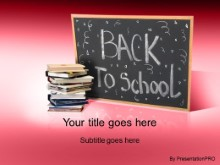 Download back 2 school 2 red PowerPoint Template and other software plugins for Microsoft PowerPoint