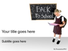 Download back 2 school grey PowerPoint Template and other software plugins for Microsoft PowerPoint