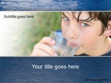 PowerPoint Templates - H2o Hydration