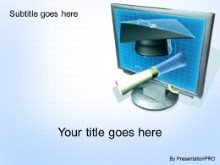 Download online edu blue PowerPoint Template and other software plugins for Microsoft PowerPoint