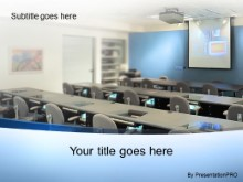 PowerPoint Templates - Training Room Blue