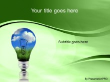 Download green energy green PowerPoint Template and other software plugins for Microsoft PowerPoint