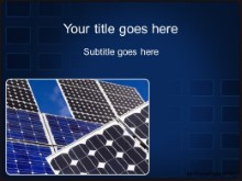 Download solar paneled sky PowerPoint Template and other software plugins for Microsoft PowerPoint