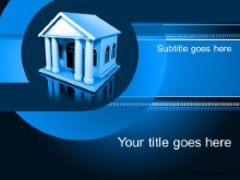 PowerPoint Templates - Banking Blue