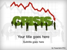 Download economic crisis PowerPoint Template and other software plugins for Microsoft PowerPoint