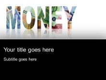 Download money money PowerPoint Template and other software plugins for Microsoft PowerPoint