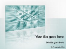 PowerPoint Templates - Money Motion Teal