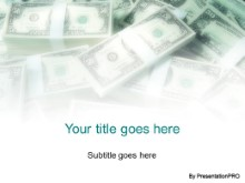PowerPoint Templates - Money Pile