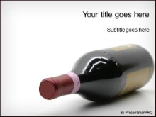 Download fine wine PowerPoint Template and other software plugins for Microsoft PowerPoint