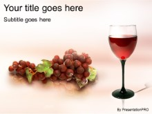 Download glass o wine PowerPoint Template and other software plugins for Microsoft PowerPoint