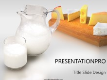 Download milk cheese PowerPoint Template and other software plugins for Microsoft PowerPoint