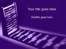 Download add it up purple PowerPoint Template and other software plugins for Microsoft PowerPoint