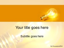 Download bulb brite PowerPoint Template and other software plugins for Microsoft PowerPoint