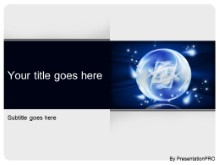 Download fantasy crystal ball PowerPoint Template and other software plugins for Microsoft PowerPoint