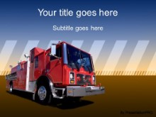 Download fire truck PowerPoint Template and other software plugins for Microsoft PowerPoint