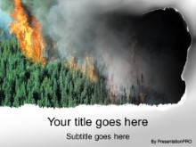 Download forest fire PowerPoint Template and other software plugins for Microsoft PowerPoint