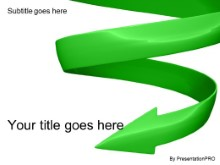 Download spiraling down green PowerPoint Template and other software plugins for Microsoft PowerPoint