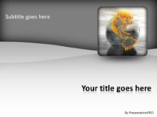 Global Highlights PPT PowerPoint Template Background