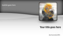 Global Highlights Widescreen PPT PowerPoint Template Background