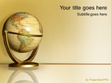 Download antique globe PowerPoint Template and other software plugins for Microsoft PowerPoint