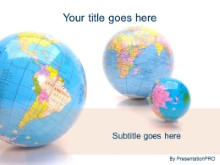 Download bright globe PowerPoint Template and other software plugins for Microsoft PowerPoint