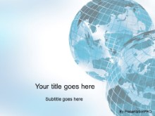 Download corner globes blue PowerPoint Template and other software plugins for Microsoft PowerPoint