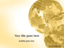 Download corner globes gold PowerPoint Template and other software plugins for Microsoft PowerPoint