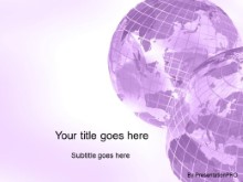 Download corner globes purple PowerPoint Template and other software plugins for Microsoft PowerPoint