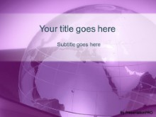 Download corporate globe purple PowerPoint Template and other software plugins for Microsoft PowerPoint