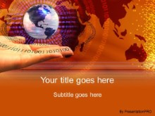Download digit globe PowerPoint Template and other software plugins for Microsoft PowerPoint