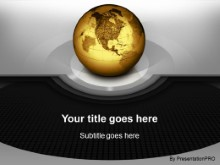 Download globular circles gold PowerPoint Template and other software plugins for Microsoft PowerPoint