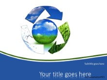 Recycle Resources PPT PowerPoint Template Background
