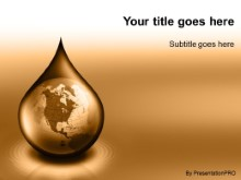 Download waterdrop globe orange PowerPoint Template and other software plugins for Microsoft PowerPoint