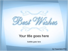 Download best wishes1 PowerPoint Template and other software plugins for Microsoft PowerPoint