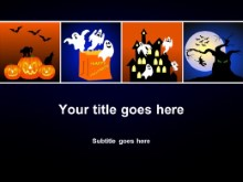 Download halloween time PowerPoint Template and other software plugins for Microsoft PowerPoint