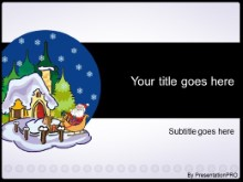Download santa snowglobe PowerPoint Template and other software plugins for Microsoft PowerPoint